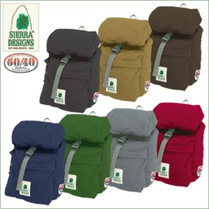 シェラデザイン 16105 60/40ミニシンプレックス SIERRADESIGNS パッカブルデイパック バックパック|bagpacks