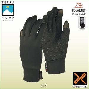テラノバ 21SPS-スティッキーパワーストレッチグローブ TERRANOVA 防寒手袋 登山手袋 ウインターグローブ マウンテングローブ|bagpacks