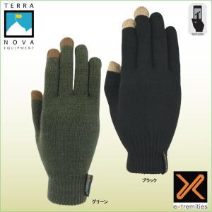 テラノバ 21TMG-シニータッチグローブ TERRANOVA 防寒手袋 登山手袋 ウインターグローブ マウンテングローブ|bagpacks