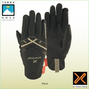 テラノバ 21WLD ウインディ ドライライト グローブ TERRANOVA 防寒手袋 登山手袋 ウインターグローブ マウンテングローブ|bagpacks