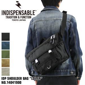 INDISPENSABLE(インディスペンサブル) IDP SHOULDER BAG LOITER ...