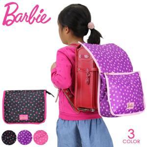 女の子の大好きなBarbieのバッグ バービーのシルエットとドット柄を散りばめられた大人っぽいアイテ...