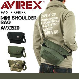 AVIREX(アヴィレックス) EAGLE(イーグル) ショルダーバッグ 斜め掛けバッグ A5 メン...