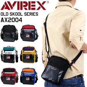 AVIREX(アヴィレックス) OLD SKOOL(オールドスクール) ショルダーバッグ ウエストバ...