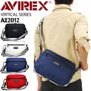 AVIREX(アヴィレックス) VIRTICAL(バーチカル) ミニショルダーバッグ 斜め掛けバッグ...