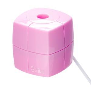 ペットボトル 加湿器 キューブ ピンク|bagus-co