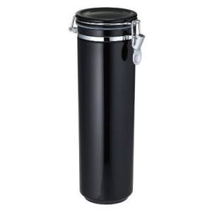 イデアル キャニスター ブラック パスタ 保存容器|bagus-co