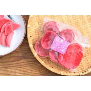得トク2WEEKS0318   自家栽培の赤かぶを甘酢で、漬け込みました。 甘酸っぱく、コリコリッと...