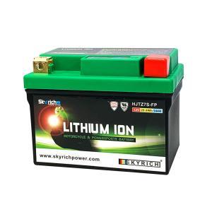 【限定特価】 SKYRICH リチウムイオンバッテリー 【互換 ユアサ YTX7L-BS GTX7L-BS YTZ7V】 即使用可能|baikupatuhakase