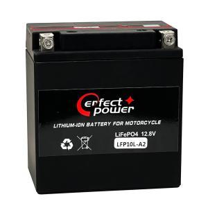 PERFECT POWER リチウムイオンバッテリー LFP10L-A2 互換 YUASA ユアサ YB10L-A2 DB10L-A2 FB10L-A2 FZR250R XV250ビラーゴ GS250E GSX400FW GSX400E|baikupatuhakase