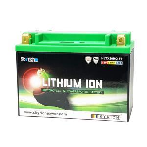 SKYRICHリチウムイオンバッテリー 互換 ユアサYTX20-BS YB16-B ハーレー|baikupatuhakase