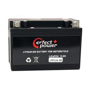 PERFECT POWER LFP12A-BS リチウムイオンバッテリー 【互換 ユアサ YT12A-BS FT12A-BS GT12A-BS】 即使用可能|baikupatuhakase