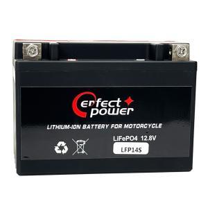 PERFECT POWER LFP14S リチウムイオンバッテリー 互換 ユアサ YTZ14S FTZ14S DTZ14-BS CB1300 SUPER SC54|baikupatuhakase