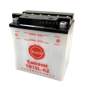 台湾 YUASAユアサ YB10L-A2 互換 DB10L-A2 FB10L-A2 XV250 ビラーゴ ボルティー FZR250|baikupatuhakase