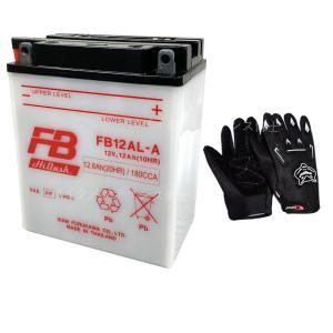 グローブ付! 古河電池(FB) フルカワFB12AL-A 互...