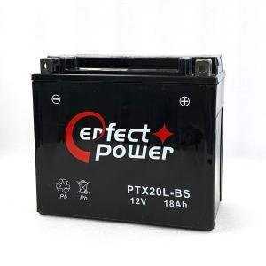 PERFECT POWER PTX20L-BS バイクバッテリー【互換 YTX20L-BS GTX20L-BS FTX20L-BS 65989-90B 65989-97A 97B 97C】ハーレー 水上バイク|baikupatuhakase