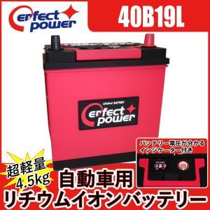 PERFECT POWER 40B19L 自動車用リチウムイオンバッテリー 蓄電池 【互換 除雪機 28B19L 40B19L 42B19L 44B19L SB40B19L 36B20L 38B20L 40B20L 44B20L】|baikupatuhakase