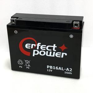 PERFECT POWER PB16AL-A2 バイクバッテリー初期充電済 互換 ユアサ YB16AL-A2 GM16A-3A V-MAX ドカティDUCATI マリンジェット|baikupatuhakase