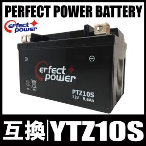 PERFECT POWER PTZ10S バイクバッテリー充...