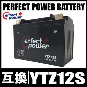 PERFECT POWER PTZ12S バイクバッテリー充電済 互換 YTZ12S FTZ12S DTZ12-BS フェイズ フォルツァ PS250|baikupatuhakase