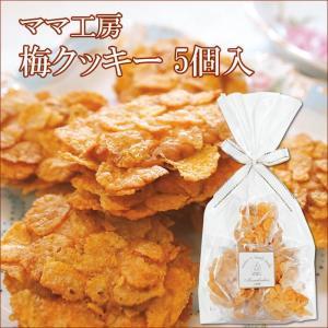 【梅クッキー】◆梅クッキー 5個入◆さわやかな梅の香りの梅のクッキー