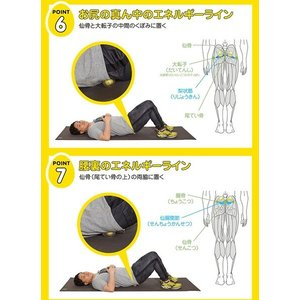 腰痛対策 グッズ エナジーエッグ 金メダリスト考案 腰痛 解消 ストレッチ器具|bakaure-onlineshop|07