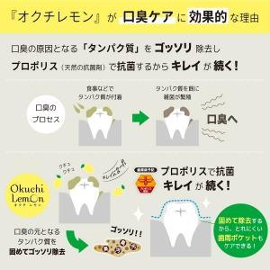 口内洗浄液 オクチレモン 25本セット 使い切りタイプ 口臭ケア 口臭予防 マウスウォッシュ|bakaure-onlineshop|04