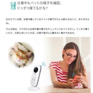 セキュリティカメラ イーカメラ eCamera 防犯カメラ ネットワークカメラ 小型 ペットカメラ 監視カメラ ワイヤレス スマホ ペット カメラ 留守 見守り|bakaure-onlineshop|10