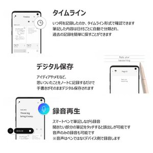 Neo smartpen ネオスマートペン M1 for iOS and Android|bakaure-onlineshop|06