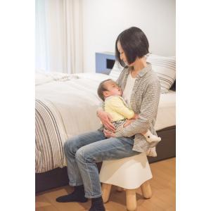 ララコチェア 赤ちゃん 寝かしつけ 日本製 最高安全基準 天然木 無垢材 出産祝い ギフト|bakaure-onlineshop|10