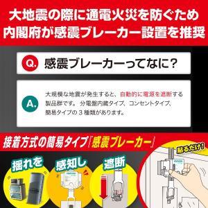 ヤモリ YAMORI 感震ブレーカー アダプター リンテック21 ブレーカー 自動遮断装置 地震対策 地震 通電火災 防止|bakaure-onlineshop|04