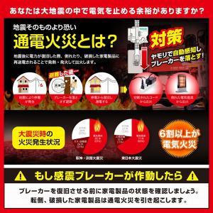 ヤモリ YAMORI 感震ブレーカー アダプター リンテック21 ブレーカー 自動遮断装置 地震対策 地震 通電火災 防止|bakaure-onlineshop|06