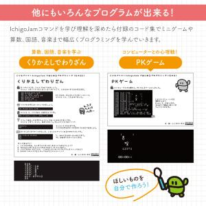 プログラミング教育マスター Win Mac 対応 小学3年生以上対象 プログラミング 学習キット IchigoJam 小学生 基礎 入門 タイピング 学習|bakaure-onlineshop|05
