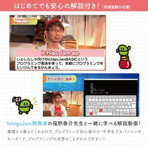 プログラミング教育マスター Win Mac 対応 小学3年生以上対象 プログラミング 学習キット IchigoJam 小学生 基礎 入門 タイピング 学習|bakaure-onlineshop|06