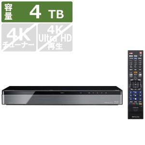 東芝 TOSHIBA ブルーレイレコーダー REGZA(レグザ) DBR-M4008 [4TB /全自動録画対応]|bakuyasuearth