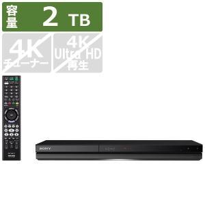 ソニー SONY ブルーレイレコーダー BDZ-ZW2700 [2TB /2番組同時録画]|bakuyasuearth