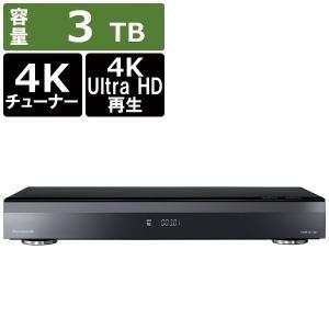 パナソニック Panasonic ブルーレイレコーダー DIGA(ディーガ) DMR-4CT301 [3TB /3番組同時録画 /BS・CS 4Kチューナー内蔵]|bakuyasuearth