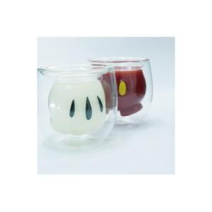 ミッキーダブルウォールグラス 2種セット|balancepets