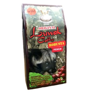 KupuKupu クプクプ Kopi Luwak ルアックコーヒー Robusta ロブスタ 50g...