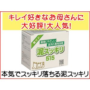 泥スッキリ本舗 無リン泥汚れ専用洗剤 泥スッキリ 2ZA590-515