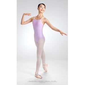 バレエ レオタード ジュニア 大人 胸元レースレオタード フィオラ スカートなしレオタード 日本製 お直し3年保証 大人 バレエ scl011|ballet-sayori|05