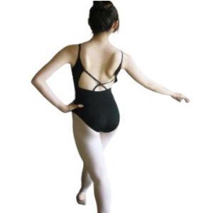 バレエレオタード バックラインストーンデザインキャミソール(サイズ140〜170)B-175 |ballet-swallowsea|02