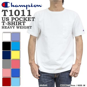 Champion チャンピオン ポケットTシャツ T1011 無地