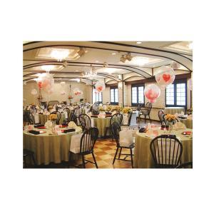 結婚式で大人気演出のスパークバルーン。透明のゴム風船の中には小さなハートの風船が6個入ってます。 各...