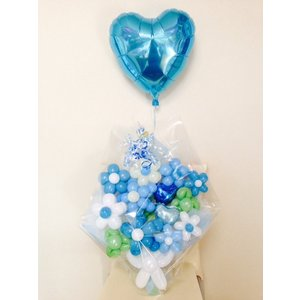 母の日ギフト  プレゼント 花   キュートブルー フラワー...
