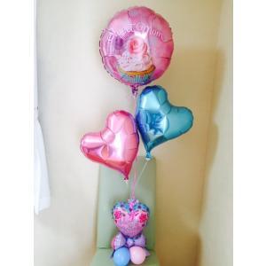 母の日ギフト   バルーン     フラワー プレゼント 花  balloon花束