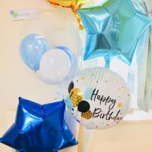 数字バルーン ナンバー10 10歳誕生日バルーン Happy Birthday 10周年