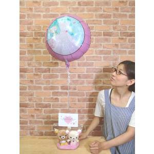電報 結婚式 仲良しリラックマ&コリラックマ 発表会 お祝い 合格祝い 誕生日 1歳 女 バルーン 結婚祝い|balloon-shop|02