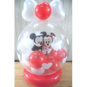 電報 結婚式 ディズニー ミッキーミニーの結婚式 バルーン電報 結婚祝い プレゼント 洋装 和装|balloon-shop|02