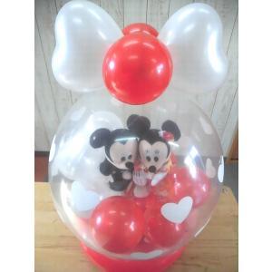電報 結婚式 ディズニー ミッキーミニーの結婚式 バルーン電報 結婚祝い プレゼント 洋装 和装|balloon-shop|03